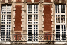 Place des Vosges, Paris - building Stock Photos