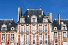 Place des Vosges, Paris - building royalty free stock image