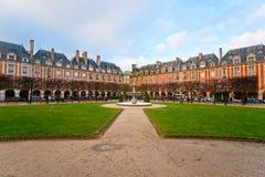 Place des Vosges in Paris, France Stock Photos