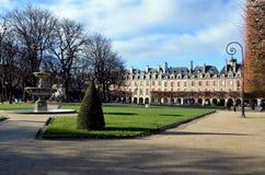 Place des Vosges, Paris Stock Photo