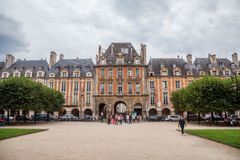 Place des Vosges in Paris, France Royalty Free Stock Photography