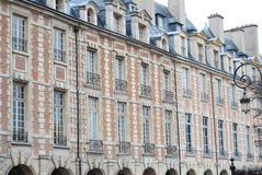 Place des vosges. Paris parigi marais Stock Image