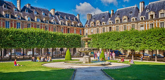 Place des Vosges, Paris Royalty Free Stock Image
