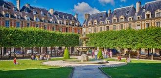 Place des Vosges, Paris Royalty Free Stock Image