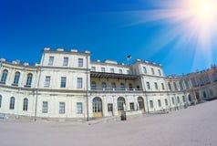 Place devant le palais Gatchina St Petersburg Russie Images stock