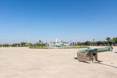 Place devant Royal Palace, Rabat image libre de droits