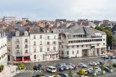 Place du Πρόεδρος Kennedy στη Angers, Γαλλία Στοκ εικόνες με δικαίωμα ελεύθερης χρήσης