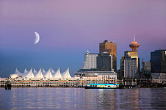 Place du Canada, Vancouver, BC Canada Photos stock