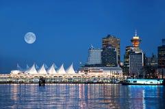 Place du Canada, Vancouver, BC Canada Photographie stock libre de droits