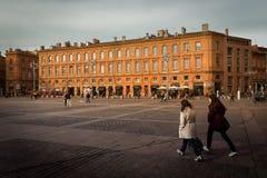 Place du Capitole. Toulouse. France Stock Photos