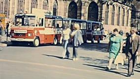 Place du Chateau Strasbourg banque de vidéos