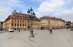 Place du Generale de Gaulle a Lille, Francia Fotografia Stock Libera da Diritti