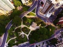 Place du Japon, dans Curitiba Brésil Photographie stock libre de droits