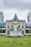 The Place du Luxembourg in Brussels, Belgium. Stock Images