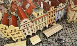 Place du marché de Prague Images libres de droits