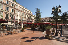 Place du Marché, Monaco. Stock Photography