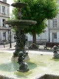 place du Minage,昂古莱姆(法国) 免版税图库摄影