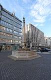 Place du Molard en Ginebra Fotografía de archivo
