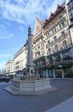 Place du Molard en Ginebra Imagen de archivo libre de regalías