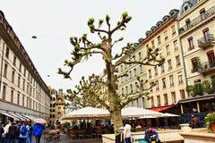 Place du Molard Geneva Royalty Free Stock Image