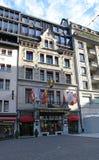 Place du Molard in Geneva Stock Photos