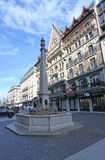 Place du Molard in Geneva Royalty Free Stock Image