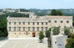 Place du Palais at Avignon on France Stock Photography