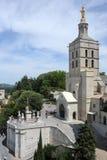 Place du Palais at Avignon on France Stock Images