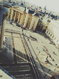 place du Pantheon,巴黎 库存照片
