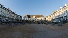 Place du Parlement De la Bretagne - Rennes Image stock