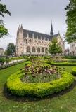 Place du Petit Sablon, Brussel Royalty-vrije Stock Foto's