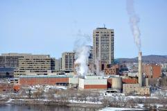 Place du Portage, dans Gatineau, le Québec photo stock