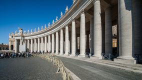 Place du ` s de Vatican St Peter Photographie stock libre de droits