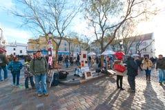 Place du Tertre Fotografía de archivo libre de regalías