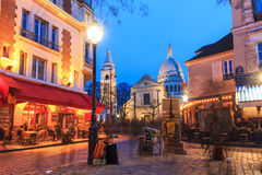 Place du Tertre Royalty Free Stock Photography