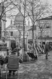 Place du Tertre Royalty Free Stock Images
