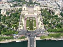 Place du Trocadéro Photographie stock libre de droits