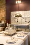 Place et cuisine de Dinning photographie stock libre de droits