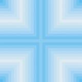 Place et ligne bleues pattern3 Image stock
