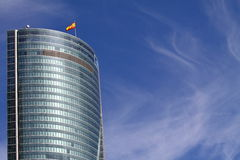 Place financière de Madrid Images libres de droits