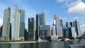 Place financière de Singapour Image libre de droits