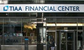 Place financière de TIAA Image stock