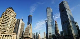 Place financière du monde de Changhaï Image libre de droits