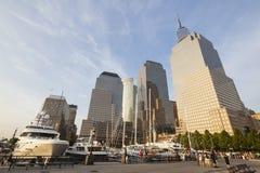 Place financière du monde, New York, éditorial Image libre de droits