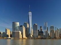 Place financière du monde, New York City Photos libres de droits