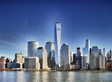 Place financière du monde, New York City Photo libre de droits