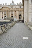 Place of First Attempted Assassination of Pope John Paul II - Vatican City Stock Images
