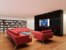Free Place For Rest In Apartment 3 D Image Stock Photography - 6876862