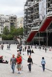 Place Georges Pompidou Stock Image