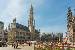 Place grande à Bruxelles, Belgique photo stock
